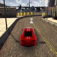 Action thriller vr car racing game cover