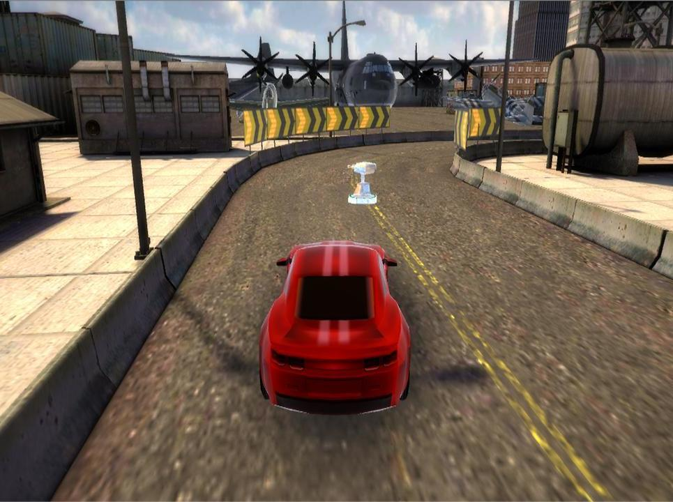 Action thriller vr car racing game show