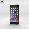 Apple iPhone 6 Plus Silver 3D Model