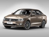 Volkswagen Bora (2016) 3D Model