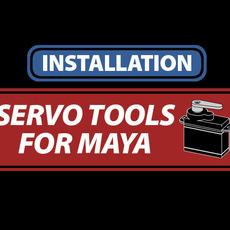 Servo Tools For Maya Installation