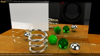 QuickStart - HDRI Realistic Product Rendering in Maya with finalRender Stage-2