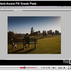 Video: Adobe's 'Content-Aware Fill' Is Photoshop Magic