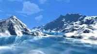 How to create a snowy mountain and ocean in Maya using shaders (video)