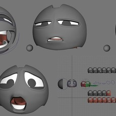 Rollbots Facial Rigging Technique for Production Timelines