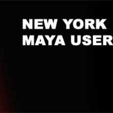 NY MAYA USERS GROUP MEETING OCT 11th