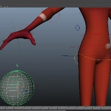 Quick maya tutorial - Parenting Objects To Characters Hand