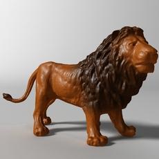 Lion 3D 3D Model