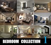 Bedrooms coll 1 3D Model