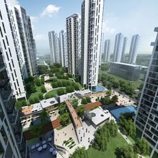 Commercial Plaza 048 3D Model