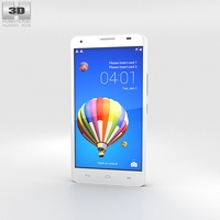 Huawei Honor 3X G750 White 3D Model