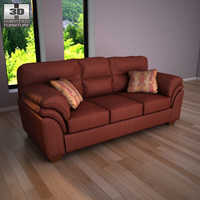 Ashley Hudson - Chianti Sofa 3D Model