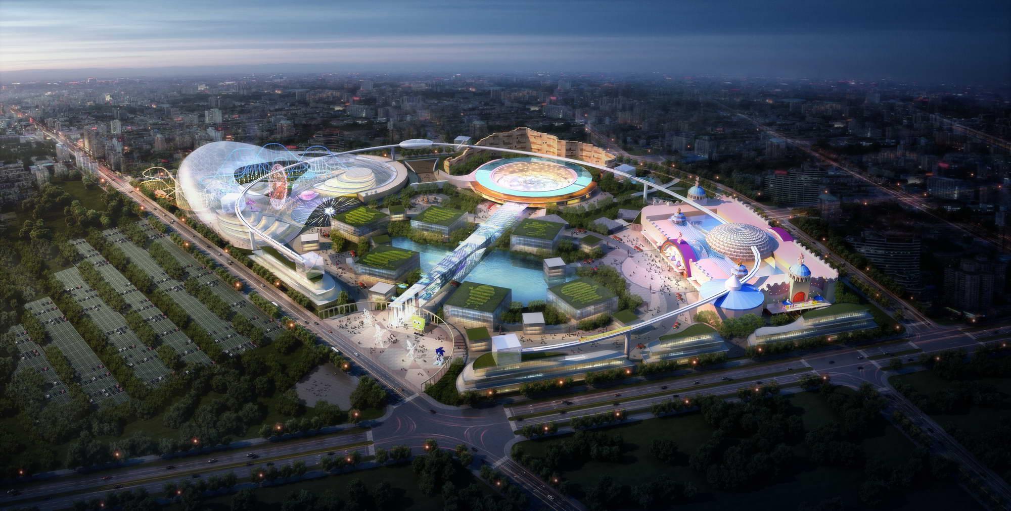 Amusement park 004 3D Model