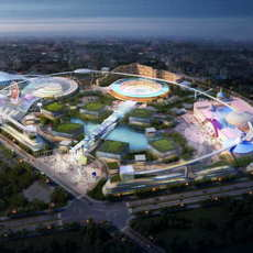 Amusement park 004 3D Model