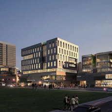 Skyscraper business center 062 3D Model