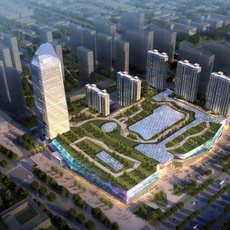 Skyscraper business center 063 3D Model