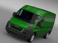Citroen Relay Van L2H2 2006-2014 3D Model