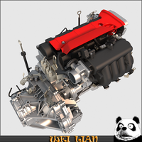 Engine assembly 3D Model