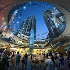 Skyscraper business center 066 3D Model