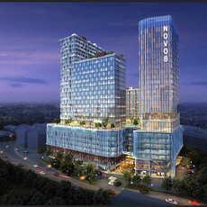 Skyscraper business center 076 3D Model