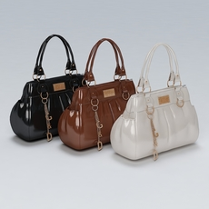Ladies Hand Bag 02 3D Model
