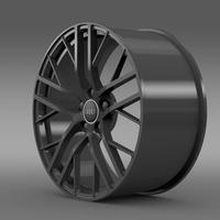 Audi R8 LMX 2014 rim 3D Model