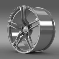 Audi R8 GT rim 3D Model