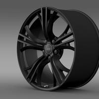 Audi R8 V10 plus 2013 rim 3D Model