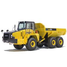 Articulated Dump Truck Komatsu HM300-2 3D Model