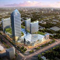 Skyscraper business center 097 3D Model
