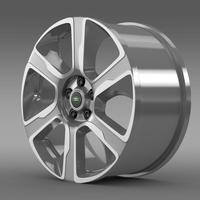 RangeRover Hybrid rim 3D Model