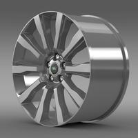 RangeRover Supercharged rim 3D Model