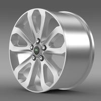 RangeRover Vogue SDV8 rim 3D Model