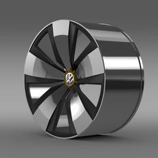 Volkswagen Beetle Dune rim 3D Model