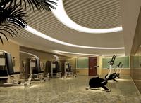 Gym 005 3D Model
