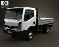 Nissan Cabstar Tipper Truck 2006 3D Model