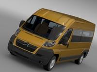 Citroen Relay Window Van L3H2 2006-2014 3D Model