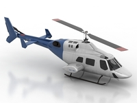 Helicopter 3D Model