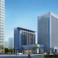 Skyscraper Office Building 032 3D Model