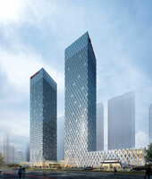 Skyscraper Office Building 035 3D Model