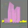 03 54 01 270 skyscraper office building 037 5 4