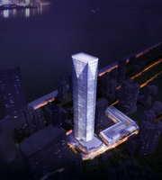 Skyscraper Office Building 044 3D Model