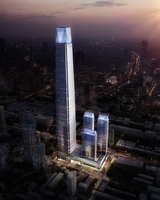 Skyscraper Office Building 072 3D Model