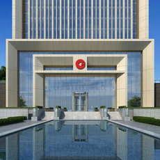 Skyscraper Office Building 086 3D Model