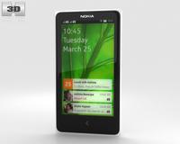 Nokia X White 3D Model