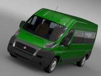 Fiat Ducato Maxi Bus L4H2 2006-2014 3D Model