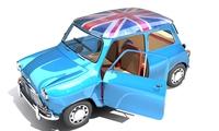 Mini Cooper 1956 3D Model