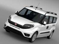 Fiat Doblo Maxi (152) 2015 3D Model