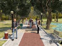 Park 2 3D Model