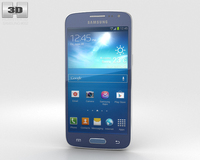 Samsung Galaxy Express 2 Blue 3D Model